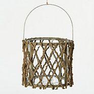 Willow Lattice Lantern  think...garden party...  shopterrain.com terrain willow, willows, lantern thinkgarden, lantern shopterrain, garden parties, willow lattic, lanterns, thinkgarden parti, lattic lantern