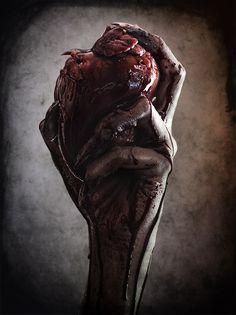 Pilar Rubio wants your heart... by Rebeca Saray Gude, via Behance