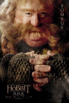 ring, the hobbit, unexpect journey, movi, lord, bombur, posters, jrr tolkien, thehobbit