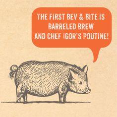 Porter announcing the first Bev & Bite at Cork Fire Kitchen http://www.temeculacreekinn.com/cork-fire-kitchen/