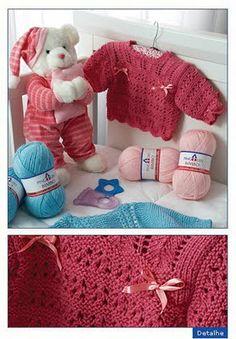 Receita de Tricô: Casaquinho de trico