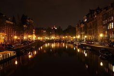 Amsterdam-at-night