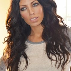 Crazy awesome Victoria secret hair, her blog is awesome! So many great tips!