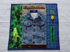 Farmer Fidget Quilt Tactile  Bright  Colorful by EndearingDignite, $40.00