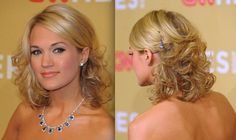 Hairstyles for medium length hair for prom