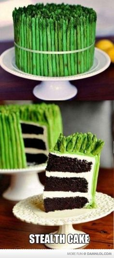 How To Hide A Cake From Your Family.
