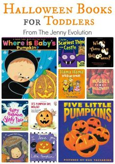 Best Halloween Books for Toddlers (Board Book Editions) | The Jenny Evolution #kidlit