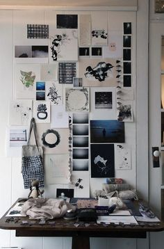 Cool mood board