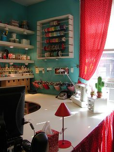 North East Corner - Ribbon Rack by Crafty Intentions, via Flickr