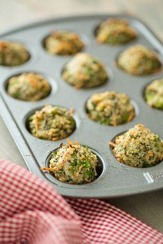 #GlutenFree #Vegetarian Broccoli Parmesan Meatballs from Oh My Veggies
