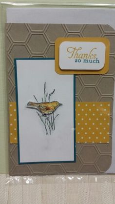 Stampin up Simply sketches