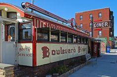 Boulevard Diner (1936), Worcester, Mass. (Worcester Lunch Car Co.)