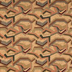 Upholstery Fabric K7964 Wheat/geo Chenille