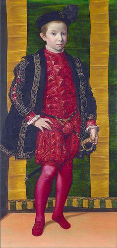Italian, Florentine painter - Portrait of a boy (about 1545)