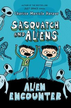 J FIC HAR. Nine-year-old Morgan of the Pacific Northwest is fascinated with aliens and the sasquatch, but his real adventures begin when he meets Lewis, whose parents just bought a motel named the Sasquatch Inn.