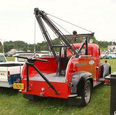 1940 International tow truck