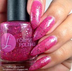 Sassy Paints: Forever Polished: Fairy Blood from the It's A Fairy World Collection