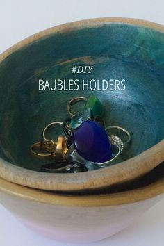 DIY Baubles Holders Tutorial at Kraft&Mint