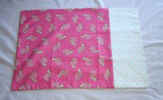 Standard Pillowcase  Hot Pink and Lime Green by TamisCraftHouse, $16.95