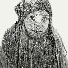 Superb Multiple Exposure Portraits by Christoffer Relander