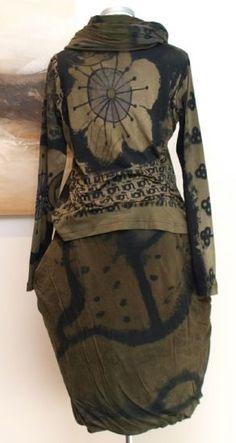 stilecht - mode für frauen mit format... - rundholz black label - Shirt Handpainted - Winter 2013