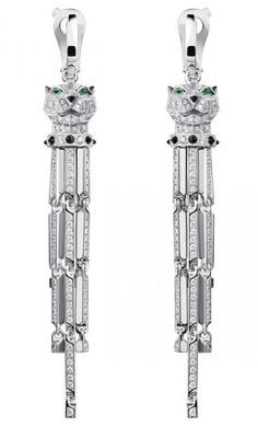 Panther Earrings by Cartier
