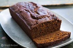Perfect for the holidays, richly flavored pumpkin gingerbread made with pumpkin purée, flour, butter, ginger, molasses, brown sugar, and lots of spices.