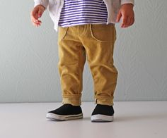 mustard cords: plus tips on making patterns