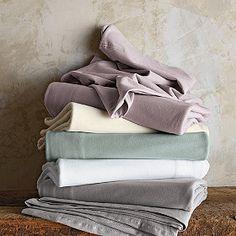 Organic Cotton Jersey Bedding