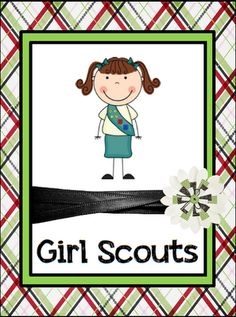 Classroom Freebies Too: Girl Scout Binder Set!