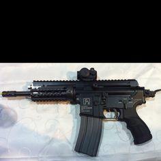 Israeli Gilboa APR (Assault Pistol Rifle) built on the American M4 platform.