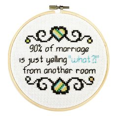 Modern cross stitch patterns and kits - www.sprucecraftco.com #crossstitch #moderncrossstitch