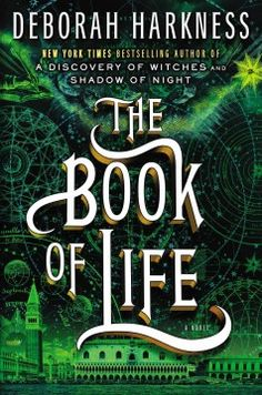 The Book of Life by Deborah Harkness.  Click the cover image to check out or request the bestsellers kindle.