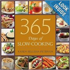 Love Slow Cookers? This cookbook has 365 easy to use recipes that everyone will LOVE!