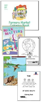Free Coloring and Activity Books