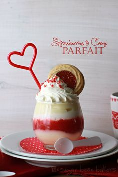 Sugar Bean Bakers: {Strawberries & Creme Parfaits}