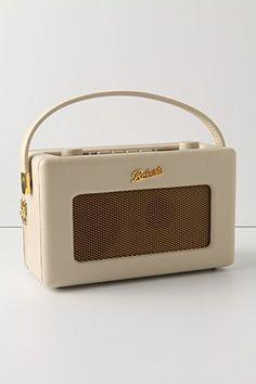 roberts revival radio @ anthroplogie: vintage-inspired radio
