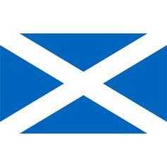 Scotland Flag (Pantone 300)