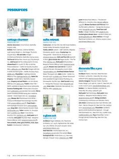 """Van Heel Dream Builders - Here is the resource info (our name is misspelled) for our bathroom project in Better Homes and Gardens Summer special edition """"Real Life Kitchens & Baths."""""""