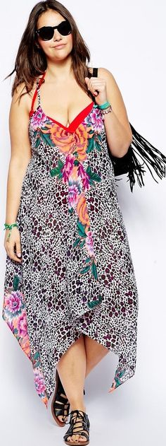 Throw on a plus size sundress before anyone can see you... after you get out of the sea or the pool: http://www.boomerinas.com/2013/03/02/beach-cover-ups-for-women-plus-size-tunics-dresses-caftans-sarongs/