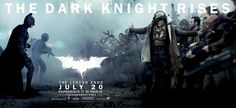 The Dark Knight Rises - An epic banner