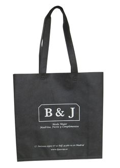 #Bolsas de tejido para tiendas de moda