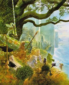 Celtic Myth by John Howe