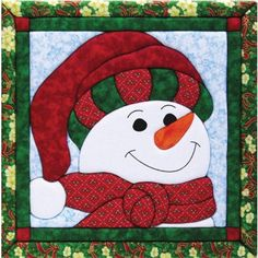 quilt magic, wall hangings, sew, snowmen, quilt patterns, quilt kits, quilts, christma, snowman quilt