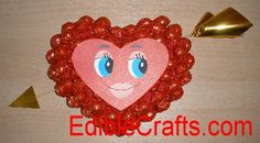 Make your own Valentines Day crafts using Cinnamon Candy.