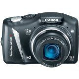 Canon PowerShot SX130IS 12.1 MP Digital Camera with 12x Wide Angle Optical Image Stabilized Zoom with 3.0-Inch LCD