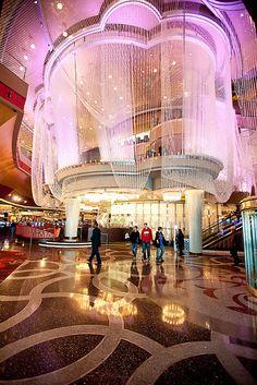 The Chandelier Bar at The Cosmopolitan, Las Vegas.