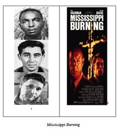 MISSISSIPPI BURNING ( 2 units combined)  Included in this unit are the following:  ➢	Five words to define and two questions to answer before watching the film.  ➢	11 questions to answer while watching the film.   ➢	Three questions to answer after watching the film. Two of these questions ask for comparisons to the words of Martin Luther King, Jr.  ➢	Definitions to the five words; information about the real 'Mississippi Burning' case.  ➢	15 multiple-choice questions and answers. $2.75