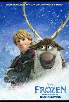 Disney Frozen/Kristoff and Sven