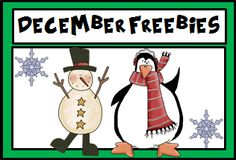 A Pinterest Board full of freebies for the month of December.